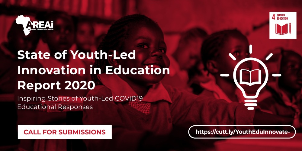 Call for Submissions: State of Youth-Led Innovation in Education Report 2020