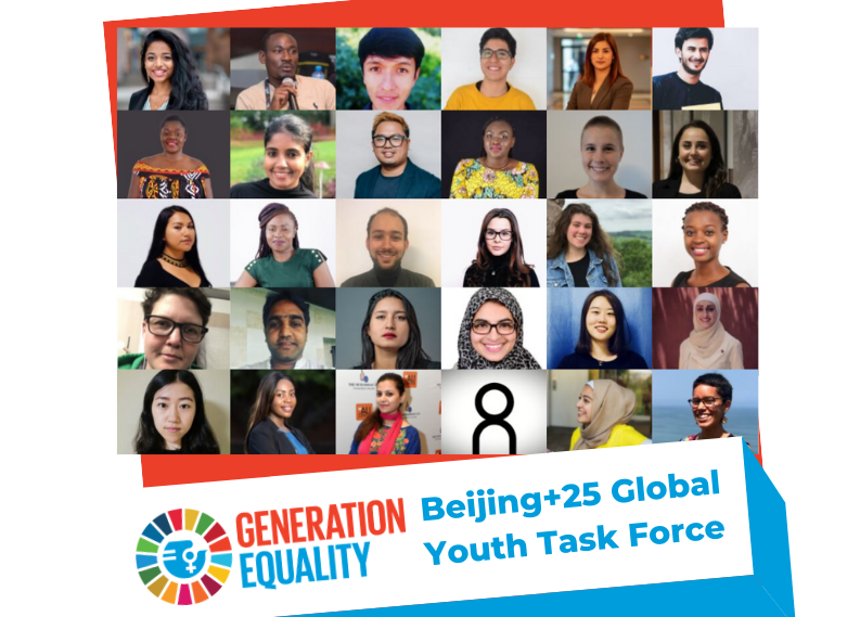 Call for applications: Expanding the UN Women Beijing+25 Youth Task Force