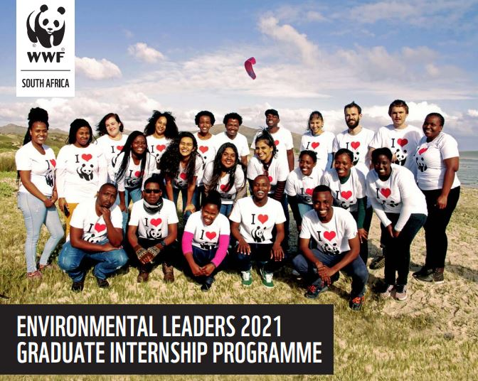 WWF South Africa Environmental Leaders 2021 Graduate Internship Programme