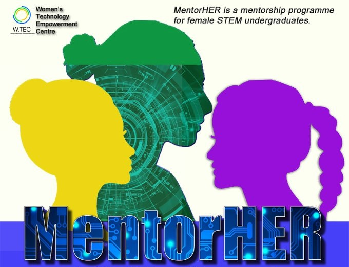 Call for Mentors: Women's Technology Empowerment Centre (WTEC) MentorHer Programme 2020