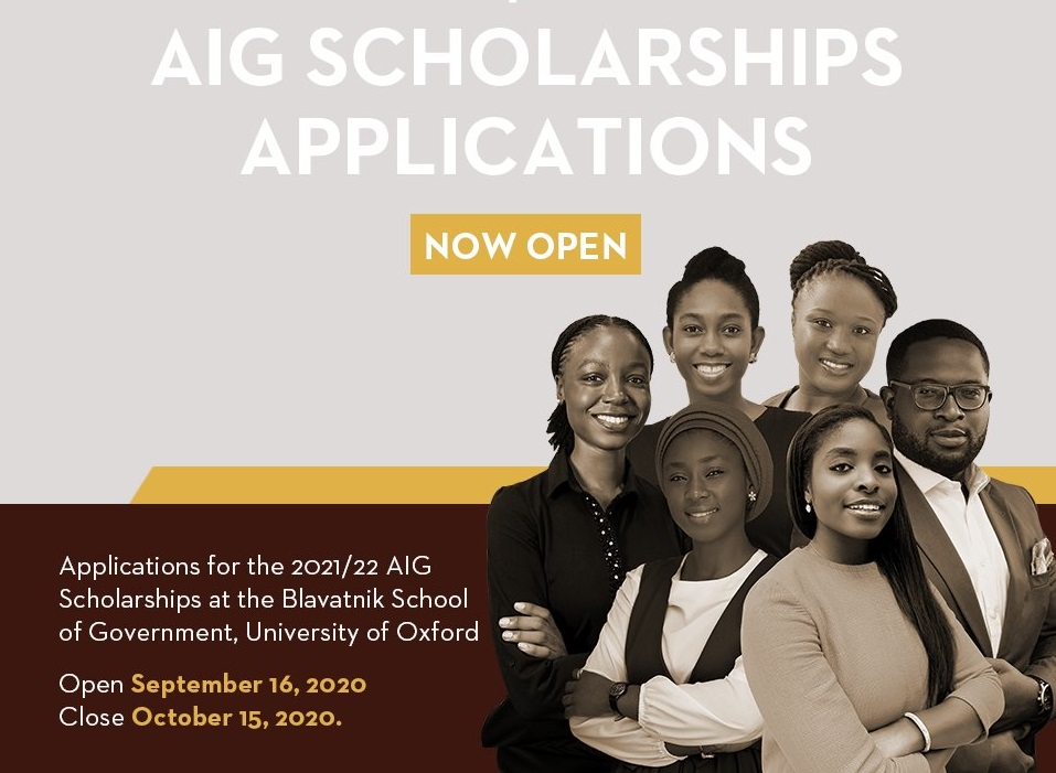 Africa Initiative for Governance (AIG) Scholarships 2021 ...