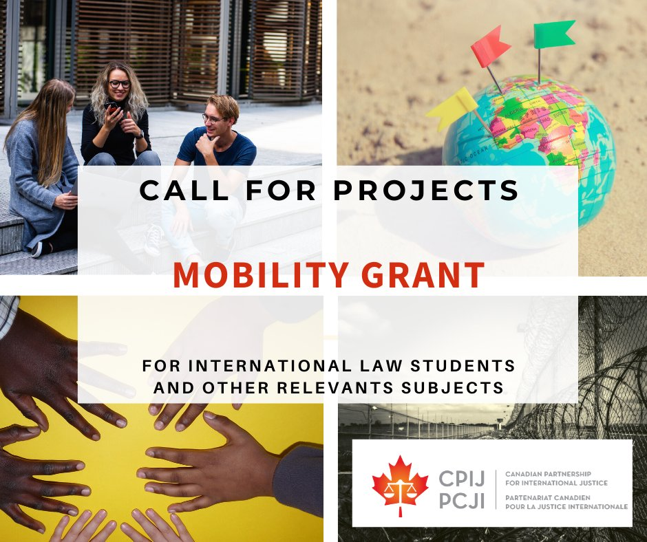 Canadian Partnership for International Justice (CPIJ) Mobility Grant 2020