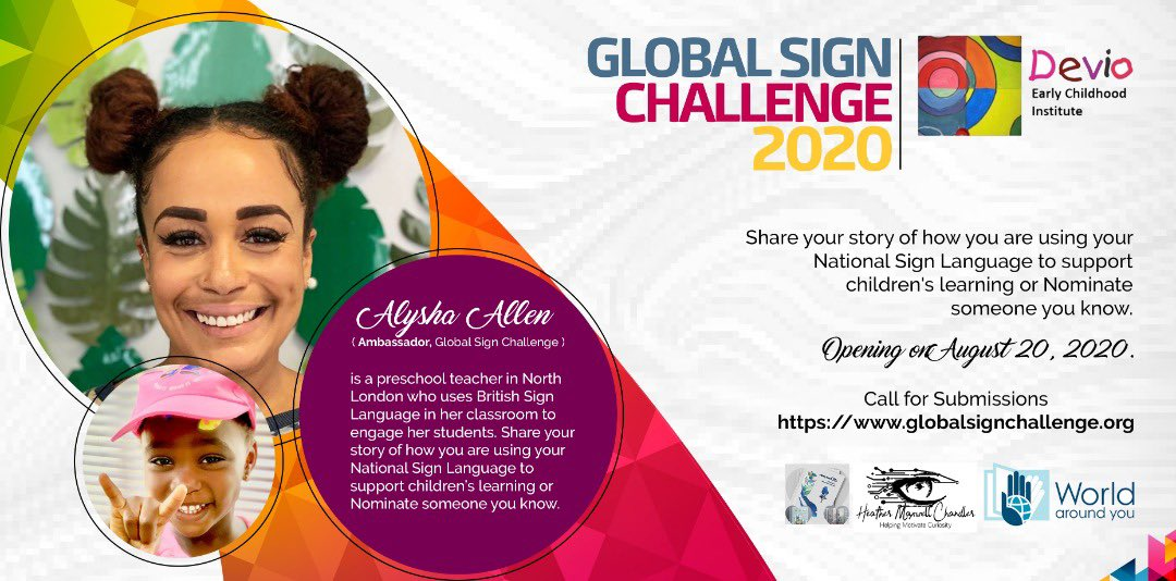 Call for Entries: Global Sign Challenge 2020