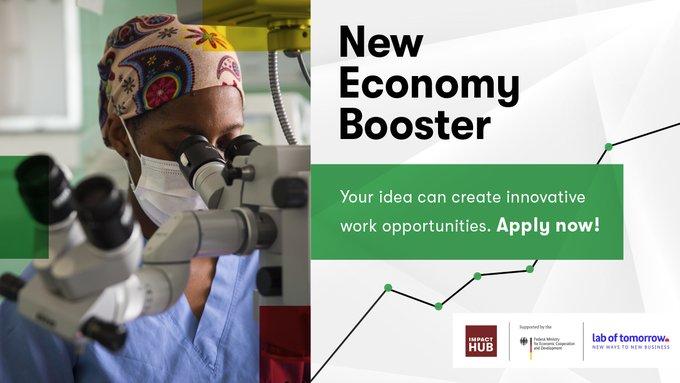 Impact Hub New Economy Booster Program 2020 for Entrepreneurs in Ghana and Nigeria