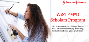 Johnson & Johnson WiSTEM2D Scholars Award Program 2021 (up to $150,000)