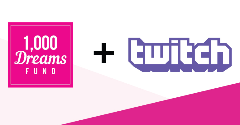 1,000 Dreams Fund Twitch BroadcastHER Grant – Fall 2020 (up to $2,000)