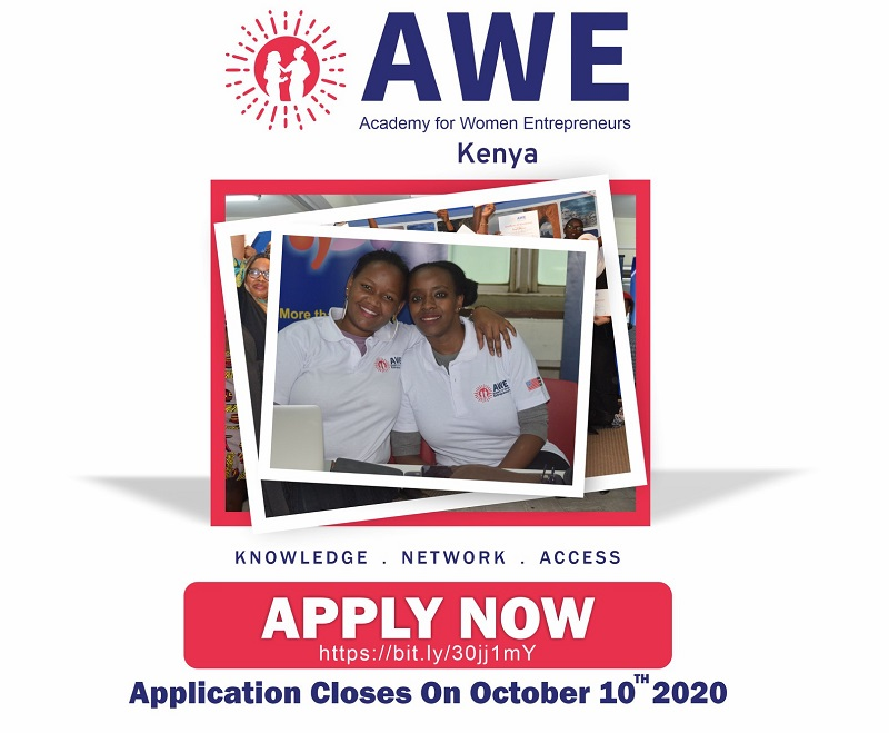 Academy for Women Entrepreneurs (AWE) in Kenya 2020 – Cohort 2
