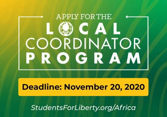 African Students For Liberty Local Coordinators Program 2020 (Cohort 2)