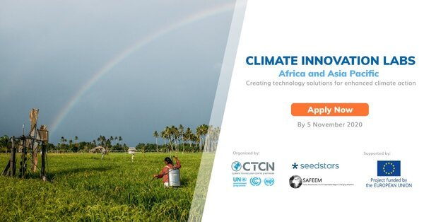 Apply for the CTCN/Seedstars Climate Innovation Labs 2020