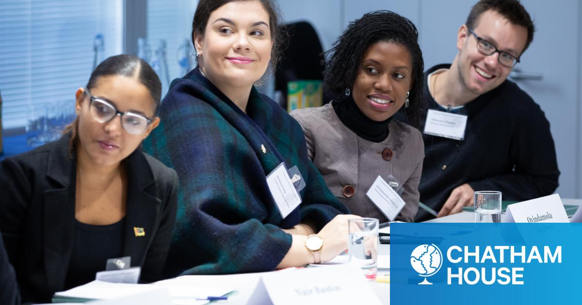 Chatham House Common Futures Conversations: Join the Community