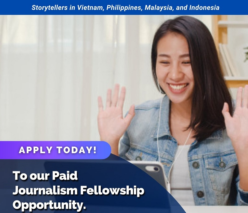 Climate Tracker Southeast Asia Journalism Fellowship 2020 for Emerging Storytellers (Paid)