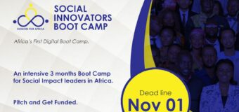 Donors For Africa Social Innovators Bootcamp 2020 (Pitch and Get Funded)