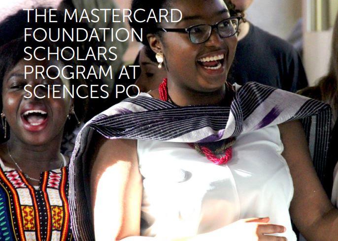 Mastercard Foundation Scholars Program at Sciences Po 2020-2021 (Fully-funded)