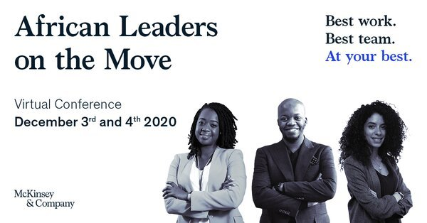 McKinsey & Company African Leaders on the Move Programme 2020