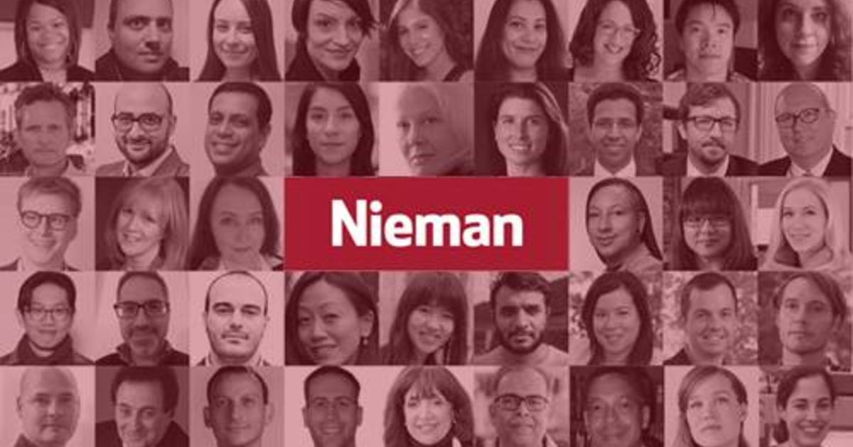 Nieman-Berkman Klein Fellowship in Journalism Innovation 2021/2022 at Harvard University