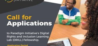 Paradigm Initiative's Digital Rights and Inclusion Learning Lab (DRILL) Fellowship 2021 (Stipend available)
