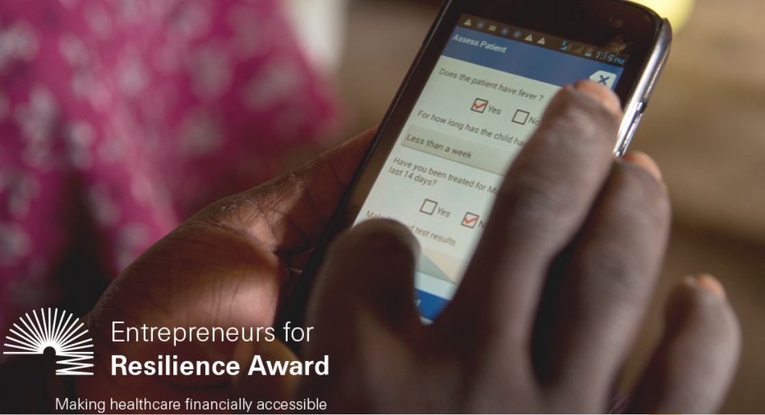 Swiss Re Foundation Entrepreneurs for Resilience Award 2021 (USD $700,000 prize)