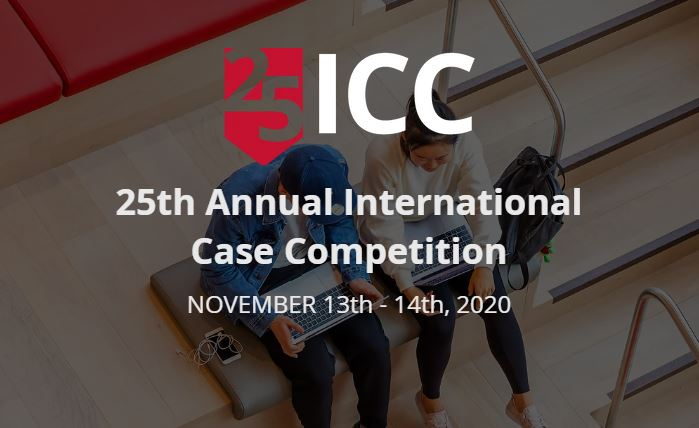 Tepper School of Business 25th Annual International Case Competition (ICC) 2020