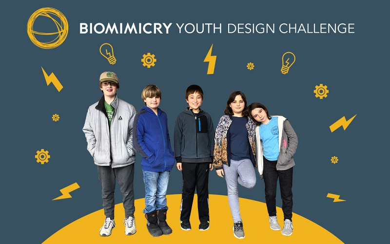 Biomimicry Institute Youth Design Challenge 2020/2021 for Middle and High School Students in the U.S.