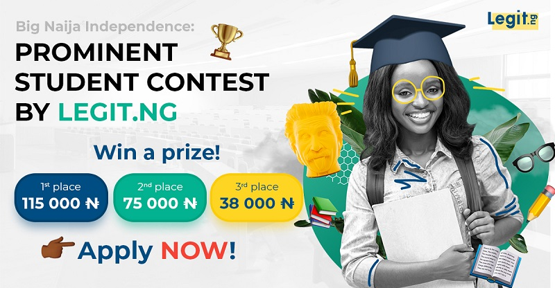 LegitNg Big Naija Independence Contest 2020 (up to 200k in prizes)