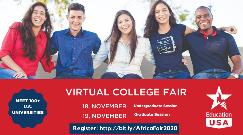 Register to attend the EducationUSA Virtual College Fair 2020 (FREE)
