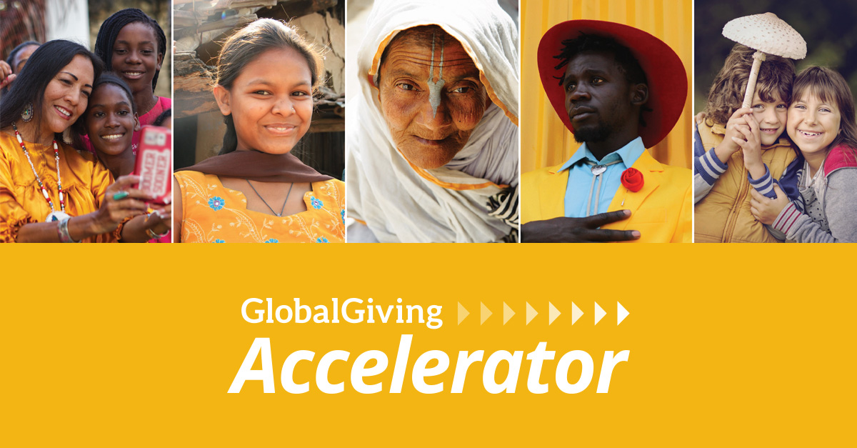 GlobalGiving Accelerator Program – April 2021 for Nonprofits ($30,000+ in matching funding)