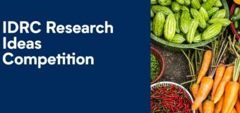 IDRC Research Ideas Competition 2020/2021 (up to $10,000 CAD)