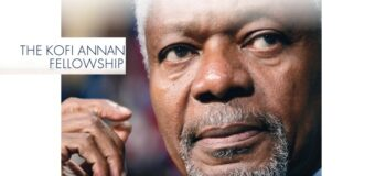 Kofi Annan Fellowship in Public Health Leadership Program 2021 (Funded)