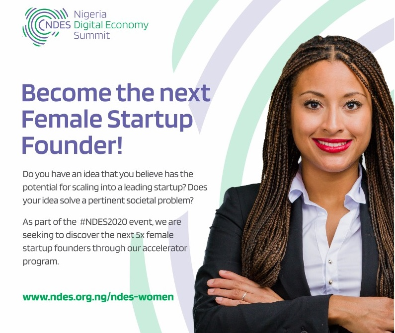 NDES Women/Foresight Seeds Fund Accelerator Program 2021 for Purpose-Driven Female Startup Founders [Nigerians only]