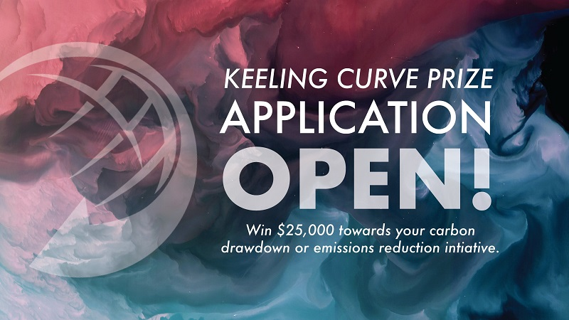 Apply for the Keeling Curve Prize 2021 (up to $25,000)