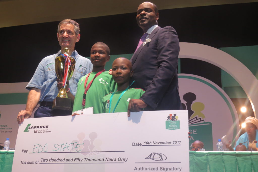 Lafarge Africa's National Essay Competition 2020 for Young Nigerians (Win up to N1,500,000)