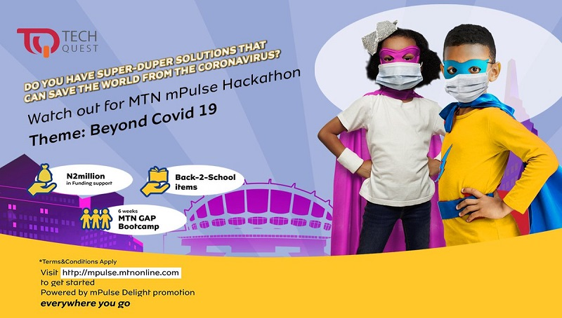 MTN mPulse Hackathon 2020 for Young Nigerian Students (Win N1m in Funding support)