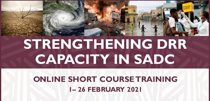 PERIPERI U Partners/World Bank Strengthening DRR Capacity in SADC: Online Short Course Training 2021