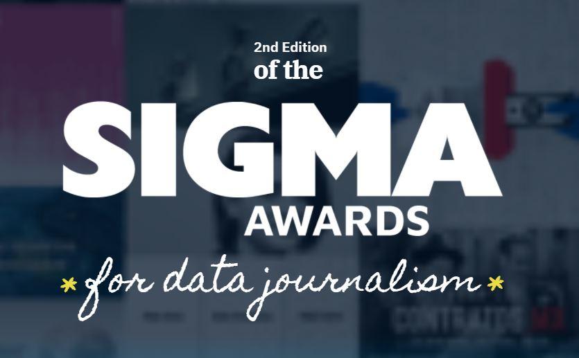 Sigma Awards 2021 for Data Journalism (US$5,000 cash prize)