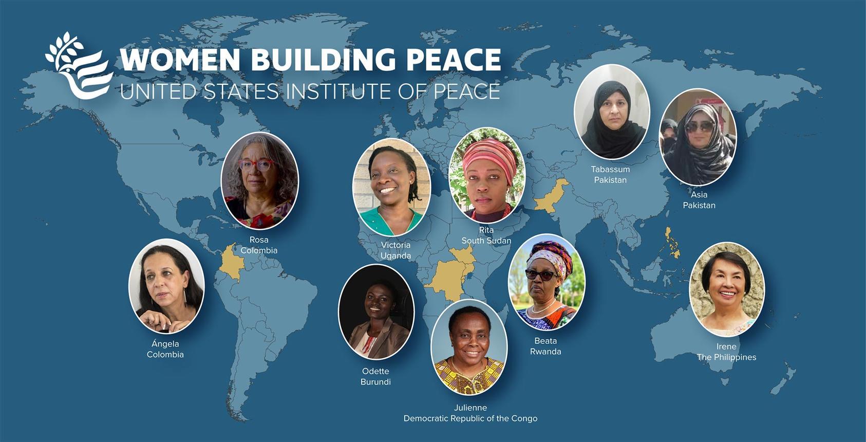 U.S. Institute of Peace (USIP) Women Building Peace Award 2021 ($10,000 prize)