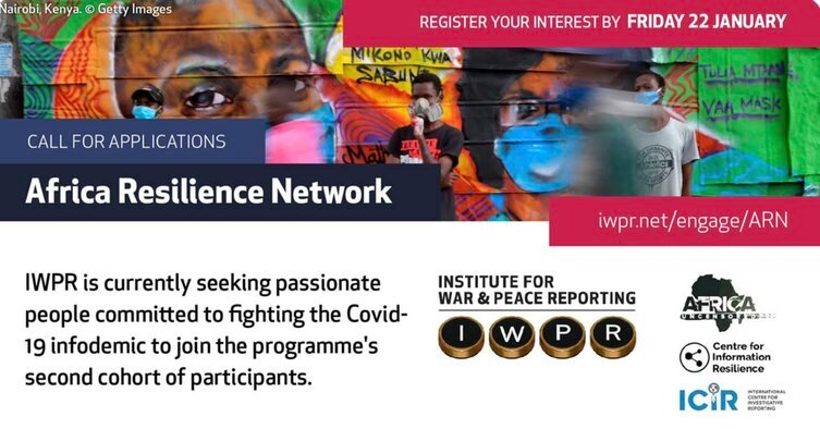 Africa Resilience Network Program 2021 for Journalists in Kenya and Nigeria