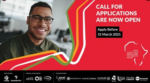Africa Young Innovators for Health Award 2021 ($75,000 Total Prize)