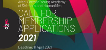 Arab-German Young Academy of Sciences and Humanities (AGYA) Call for Membership Applications 2021