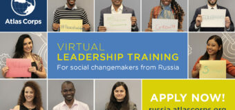 Atlas Corps Virtual Leadership Institute for Russian Professionals 2021