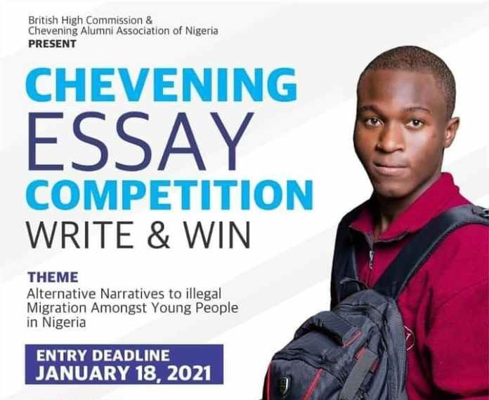 British High Commission & Chevening Alumni Association of Nigeria Essay Competition 2021