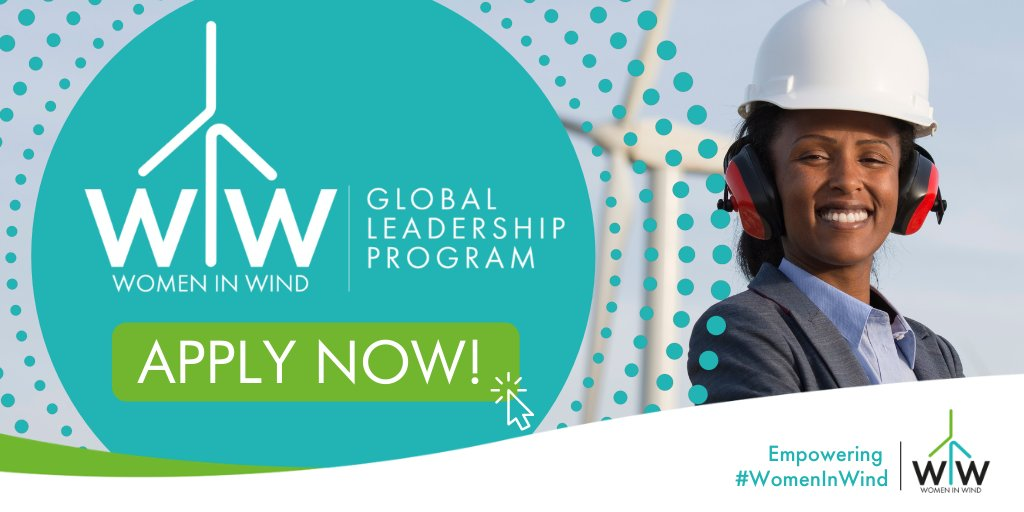 GWEC/GWNET Women in Wind Global Leadership Program 2021