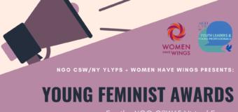 NGO CSW65 Forum Young Feminist Awards 2021 ($5,000 grants)