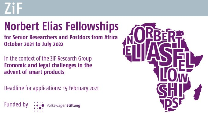 Norbert Elias Fellowship 2021/2022 for African Researchers (Funding available)