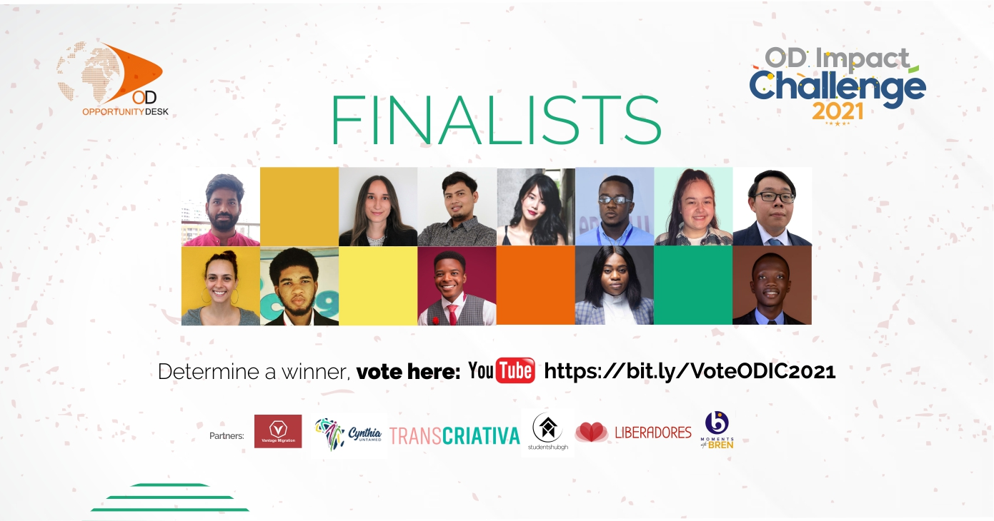 Announcing the OD Impact Challenge 2021 Top 12 Finalists!