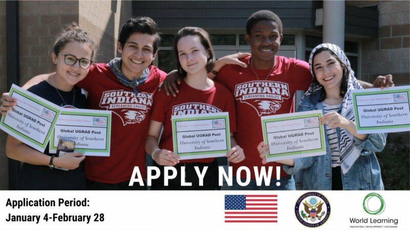 U.S. Department of State/World Learning Global Undergraduate Exchange (Global UGRAD) Program 2021-2022 (Fully-funded)