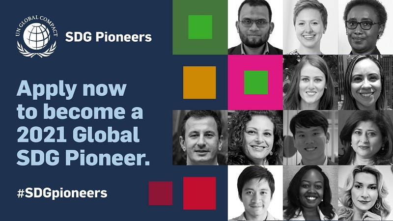 UN Global Compact SDG Pioneers Program 2021 for Young Leaders