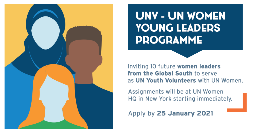 UNV/UN Women Young Leaders Program 2021 for Women from the Global South