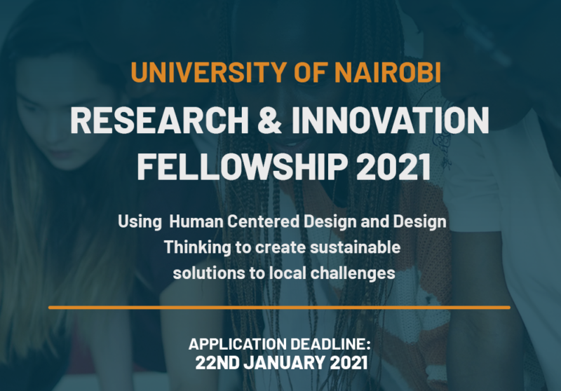 University of Nairobi Research & Innovation Fellowship 2021