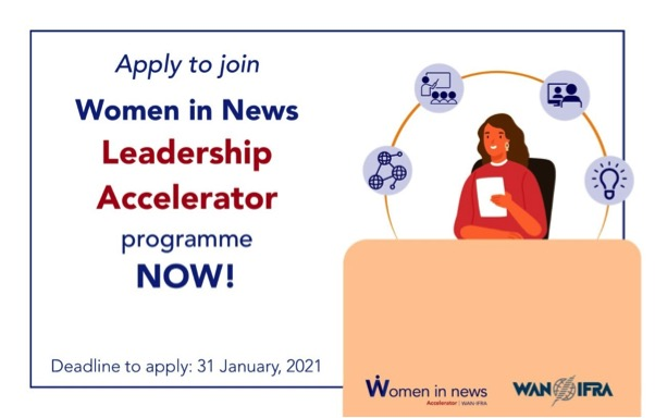 Women in News (WIN) Leadership Accelerator Program 2021
