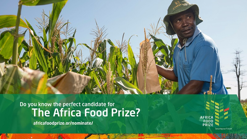 Call for Nominations: Africa Food Prize 2021 (Up to $100,000)